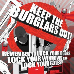Keep the burglars out